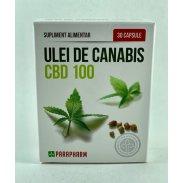 Ulei de canabis CBD 100 30 capsule