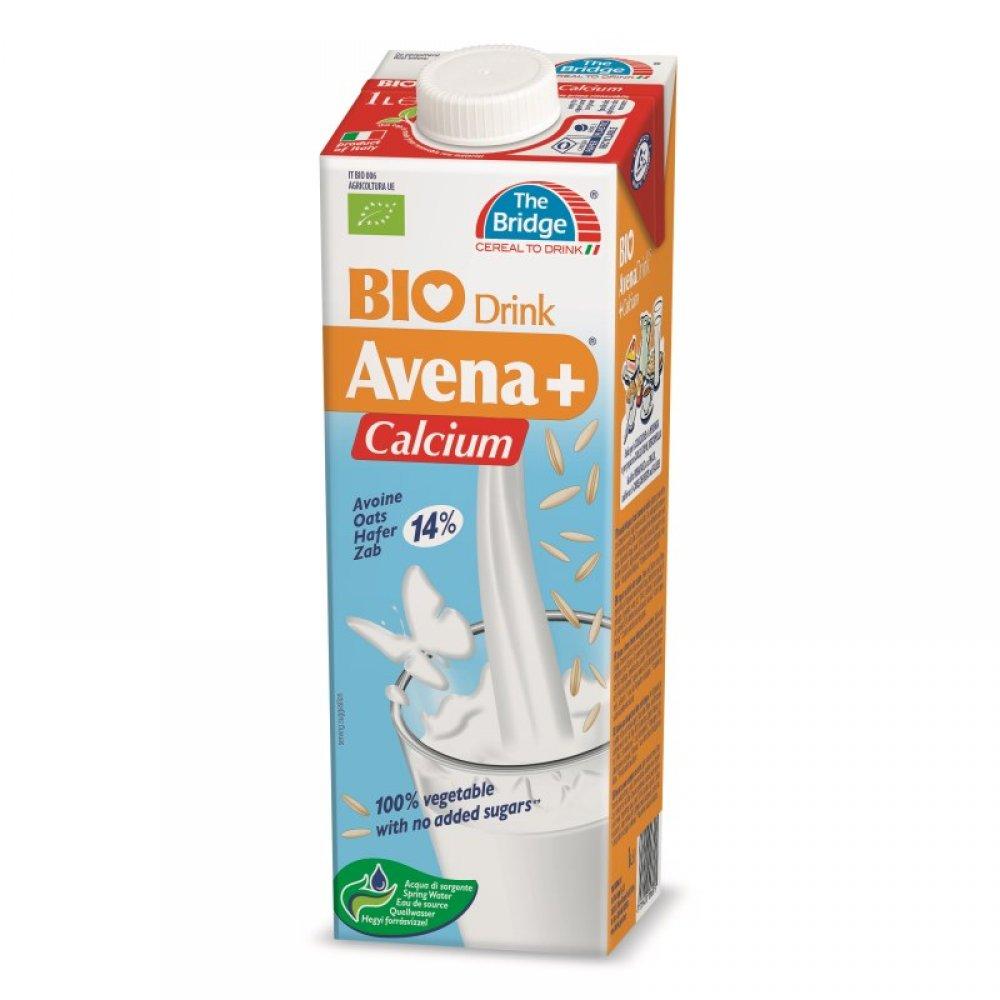Lapte bio de ovaz cu calciu 1 L