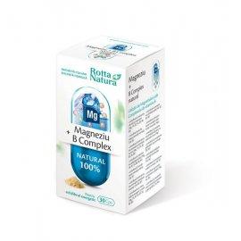 Magneziu + b complex natural 30cps