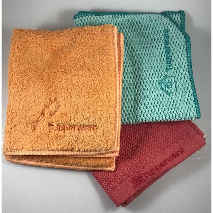 Curatenie Generala Cu Un Singur Set De Produse: Lavetele Din Microfibre